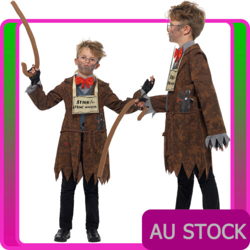 Details about  /Kids Mr Stink Costume DAVID WALLIAMS BOOK WEEK Boys GIRLS DELUXE Fancy Dress