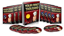 How to Make Your First $1000 Online Starting From Scratch- Videos on 1 CD
