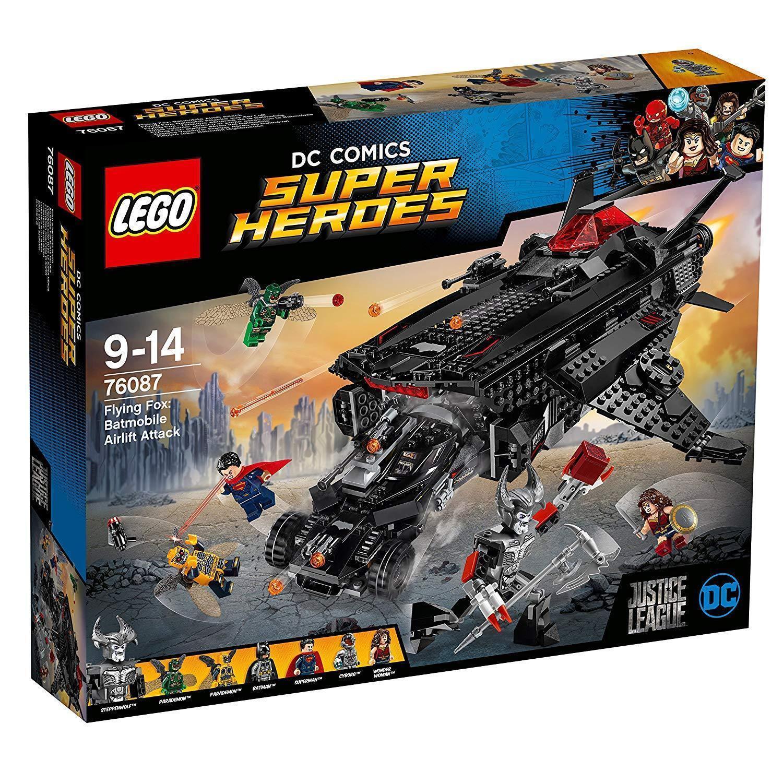 Lego ® DC Comics ™ Super Heroes Flying Fox  Batmóvil-ataque desde el aire