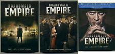 BOARDWALK EMPIRE: LOT OF 3 DVD / Blu-Ray Seasons; Season 1 2 3, 1-3