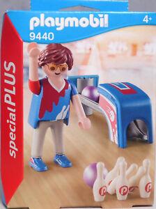 Playmobil-Special-Plus-9440-Bowing-Spieler-Bowler-2-Bowling-Kugel-6-Kegel-NEU