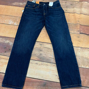 Levis-501-Customized-Taped-Jeans-Mens-Size-27x32-27-Inseam-New-NWT-C118
