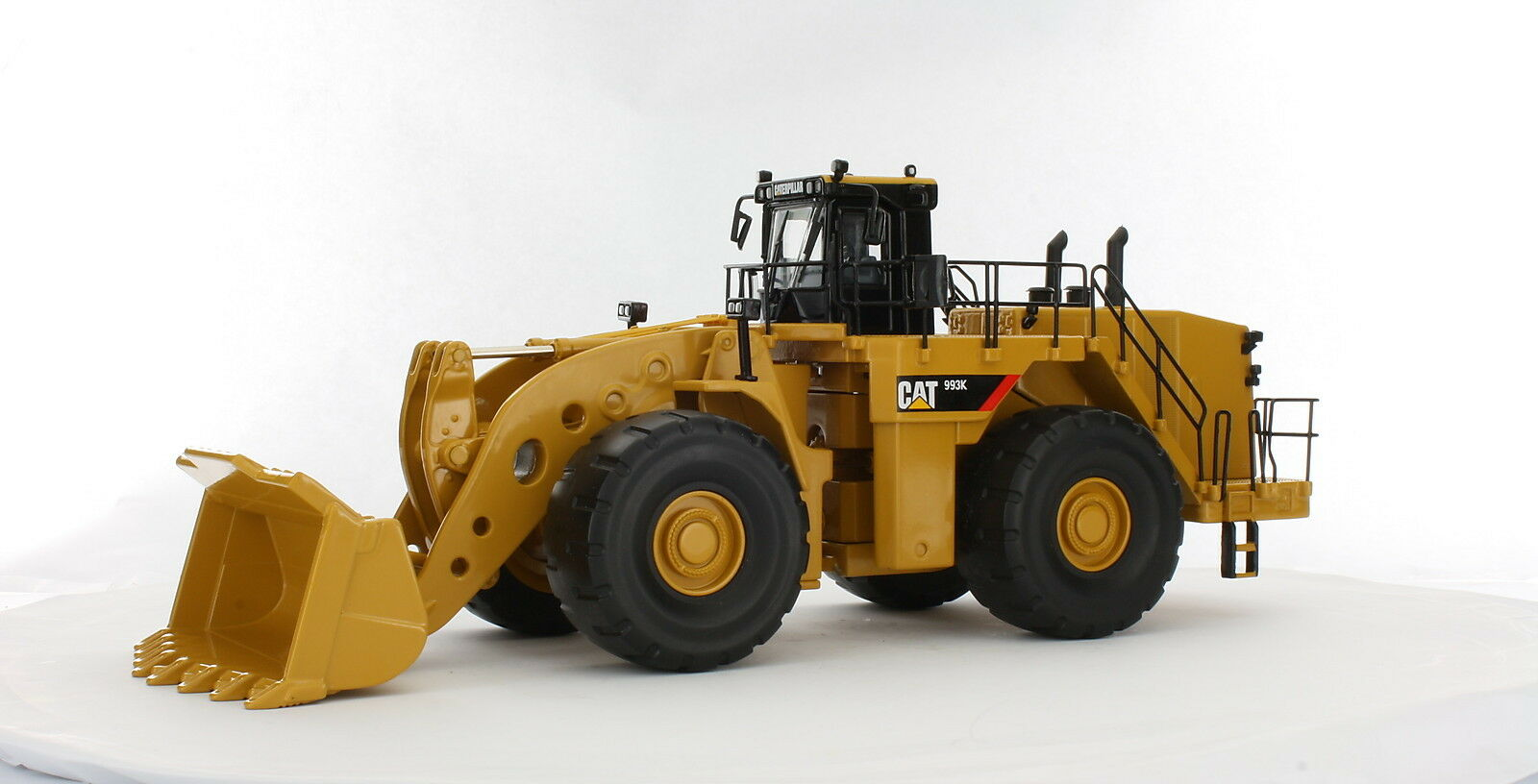 Caterpillar 1 50 scale Cat 993K Wheel Loader Diecast replica Norscot 55229