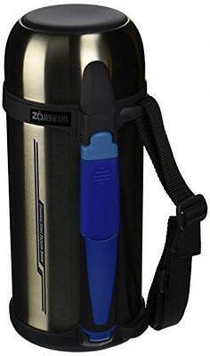 Zojirushi SF-CC15-XA 1.5L Thermal Stainless Vaccum Bottle Silver Japan Free ship