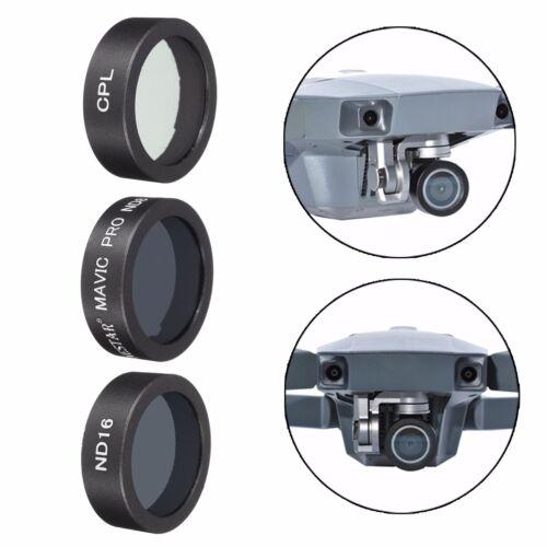 CPL ND8 ND16  ND Polarizer Camera Lens Filter w// Box For DJI Mavic Pro Drone !