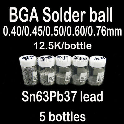 Universal BGA Reballing Repair Net Stencil Heat Solder 0.3 0.4 0.5 0.6 0.76mm