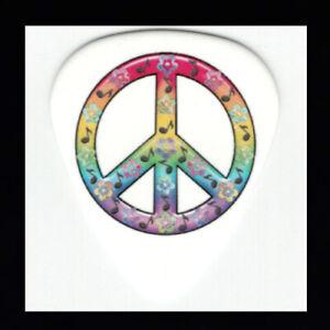 Peace-Sign-Guitar-Picks-Musical-Notes-Rainbow-Colors-Fun-Cool-Guitar-Pick-Pack