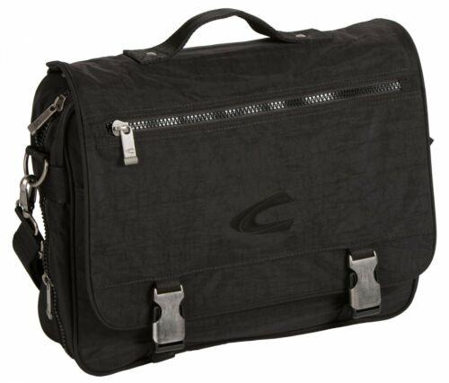 Camel Active Journey Messenger Bag sac à bandoulière Black Noir