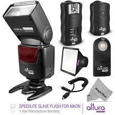 Speedlite Slave Camera Flash + Wireless Trigger Kit for Nikon by Altura Photo®
