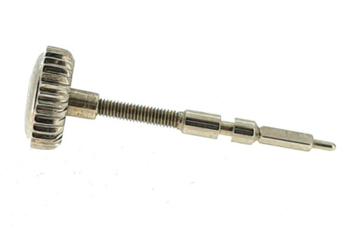 89 A.Welle für Kal IWC Ersatzteil Krone 5.3 mm Vintage Stichling Stahl Krone
