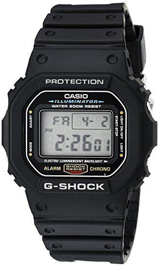 Casio G-Shock DW-5600E-1V New Original Digital Mens Watch 200M WR DW-5600E