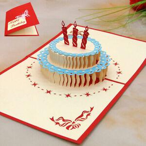 Incredible 3D Pop Up Handmade Heart Ship Birthday Cake Holiday Funny Birthday Cards Online Inifofree Goldxyz