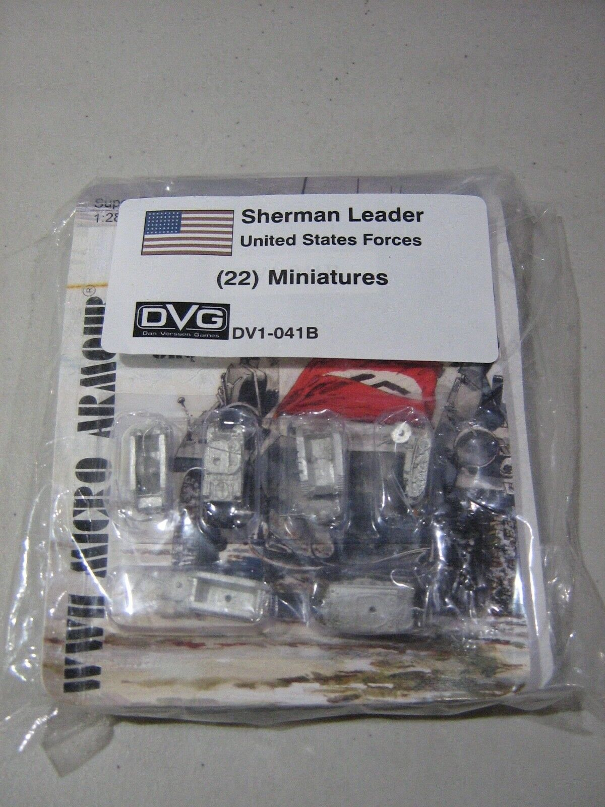 Sherman Leader United States Miniatures (New)