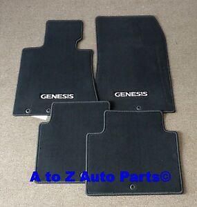 2011 2014 For Hyundai Genesis Premium Carpeted Floor Mats