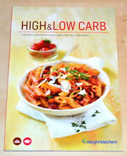 Weight Watchers Kochbuch High & Low Carb - ProPoints Plan NEUES PROGRAMM 2015