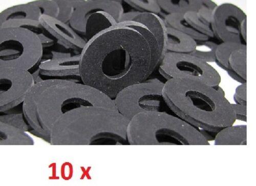"10 x 3//4/"" Washing Machine Dishwasher Water Inlet Hose Rubber Washers Free Post"