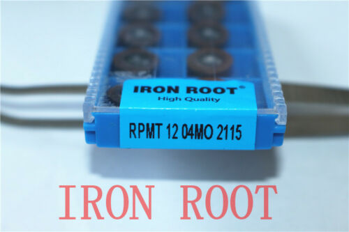 High quality IRON ROOT 10Pcs RPMT1204MO 2115 CNC Carbide For stainless steel