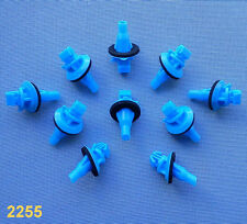 (2255) 10x Zierleistenklammern für Toyota Klip für Zierleisten blau seitenleiste