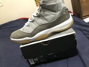 newest collection eefb8 87689 Image is loading 2001-Nike-Air-Jordan-Cool-Grey-11-XI-