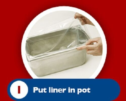 Bain marie Pot liners Easy bags Catering Mobile Food ....All sizes available!!!!