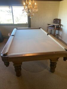 Gorgeous Olhausen Pool Table and Dining Table Set