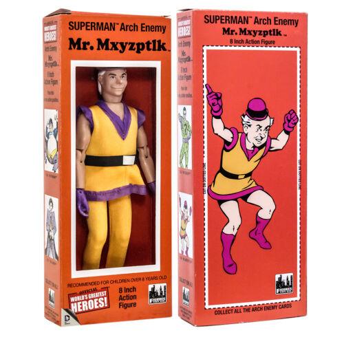 Mxyzptlk 8 in environ 20.32 cm Sourire en Coin DC COMICS Mr action figure dans Rétro Box
