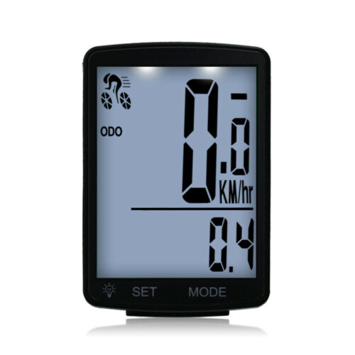 Bicycle Computer Bike Speedometer Odometer Wireless 2.8/'/' Screen Backlight G0G2