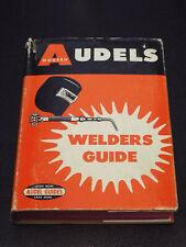 Vintage Audels Modern Welders Guide Mini Hardcover With Dust Jacket