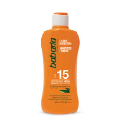babaria Aloe Vera Sonnenmilch LSF 15 200 ml (4,25 €/100ml)