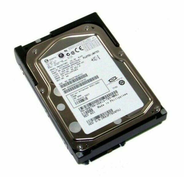 73GB 15K SAS 3.5 HD 0GU528 Dell