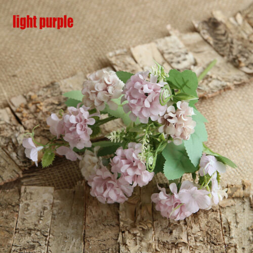Decorations Simulation Fake Flower Wedding Decoration  Silk Flowers Hydrangea