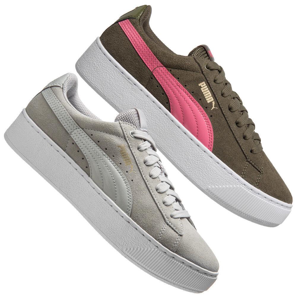 Puma Vikky Plate-forme femmes Low baskets Plateforme Chaussures De Loisirs 363287 NEUF