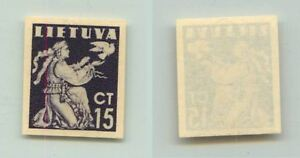 Lithuania-1940-SC-319-MNH-imperf-color-proof-f2687
