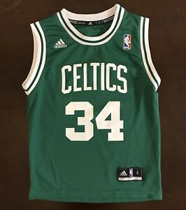 Image is loading Adidas-NBA-Boston-Celtics-Paul-Pierce-Basketball-Jersey- 6b6b40ea5