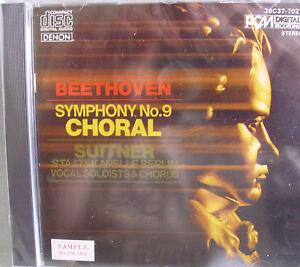 Beethoven-Symphony-No-9-Suitner-DENON-Japan-1982-No-Barcode-OVP-lesen