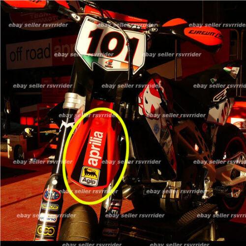 front fender decal sticker fits aprilia 450 550 sxv rxv