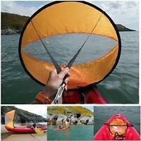 42.5'' Kayak Canoe Paddle Wind Rowing Boats Vessels Foldable Sailing Accessories