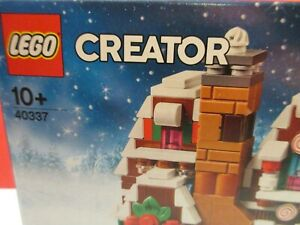 LEGO 40337 Mini Gingerbread House limited Edition Not in Stores