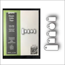 """Quickutz//Lifestyle Crafts  /""""RS-0626/""""  /""""Tags /"""" One Cutting Die  Discontinued"""
