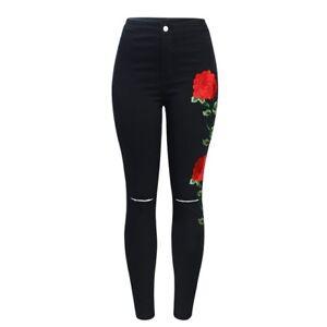 c940599788 La foto se está cargando Pantalones-Jeans-Nueva-Moda-parrafo-2018-Ropa-de-