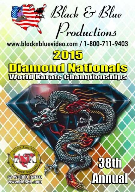 2015 Diamond Nationals Karate Championship tournament DVD