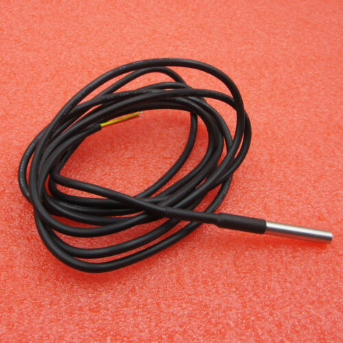 2M Waterproof Digital Temperature Temp Sensor Probe DS18B20 New