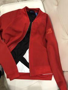 medianoche taza Nueva llegada  Adidas Vermelho jaqueta Bomber Feminino Junior Tamanho Xs | eBay