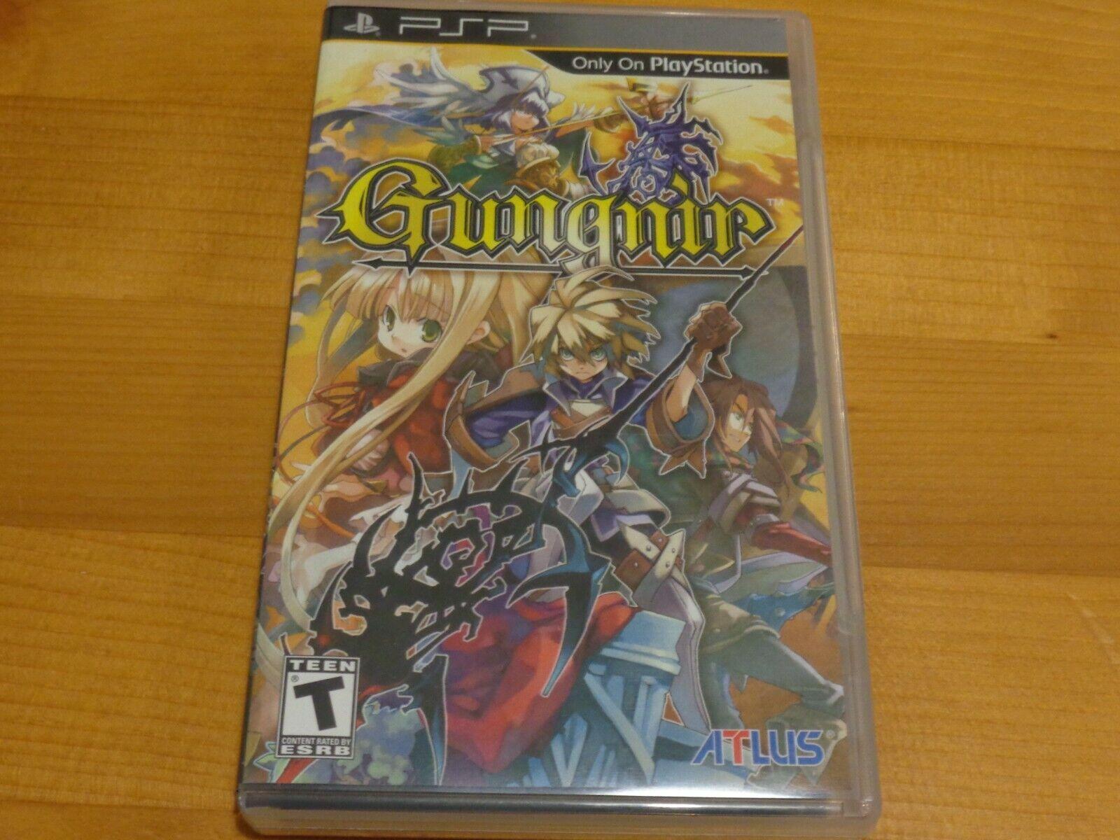 Gungnir - Sony PSP Atlus RPG wie neu