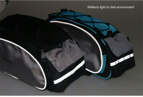 13L Roswheel MTB Road Bike Rack Trunk Bag Bicycle Cycling Rear Seat Pannier Pack