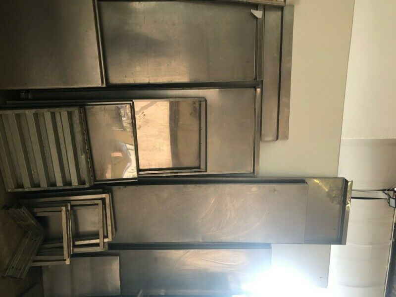Various Catering Stainless Steel Shelving