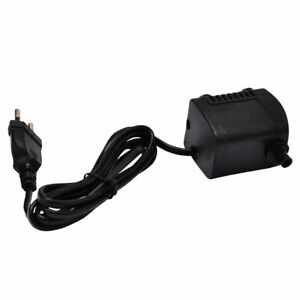 Pumps (water) 400l H 7w 220-240v Black Mini Submersible Water Pump Fountain Air Fish Tank Preventing Hairs From Graying And Helpful To Retain Complexion