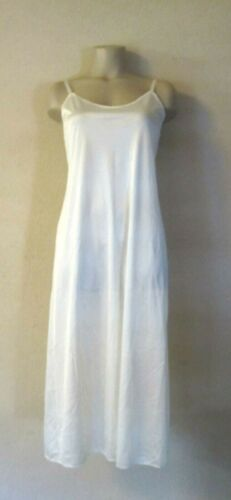 SEARS Non Cling Long Full Slip in Ivory Size 34 Fu