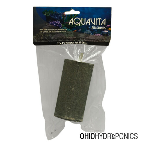 AquaVita™ 1.7 or 2x4 Cylinder Air Stone - AquaVita oxygen aquarium water tank