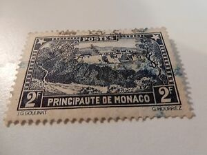 MONACO-1924-39-early-definitive-issue-Mint-hinged-2F